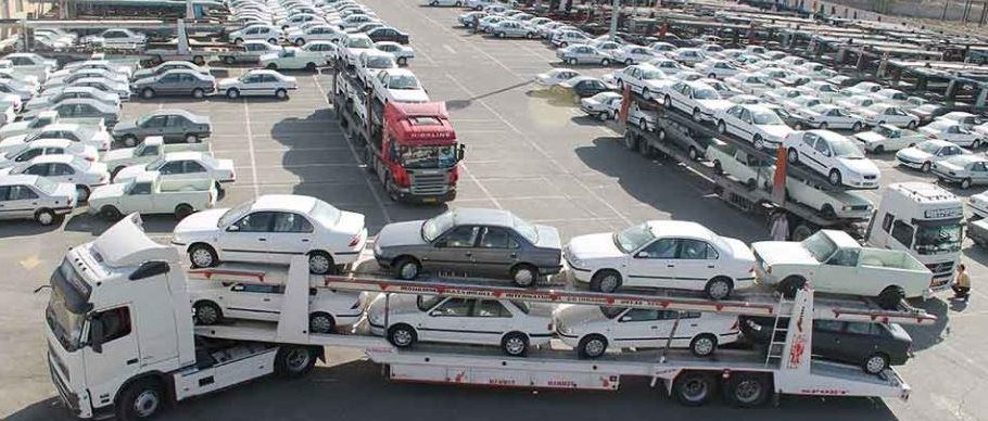 تریلی حمل خودرو